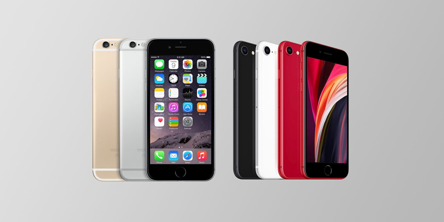 Камеры iPhone SE 2020 и iPhone 6