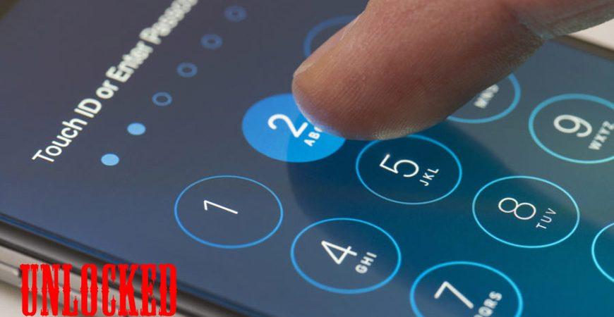 iPhone разблокирован
