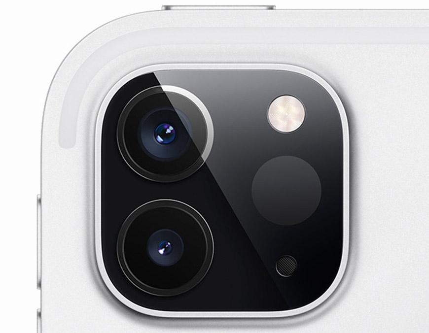 две камеры на iPad Pro