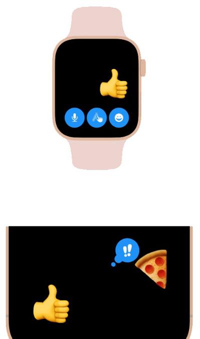 Быстрый ответ с Apple Watch
