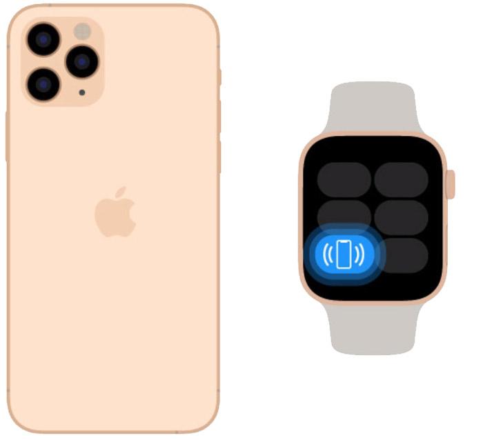 Найти Айфон через умные часы