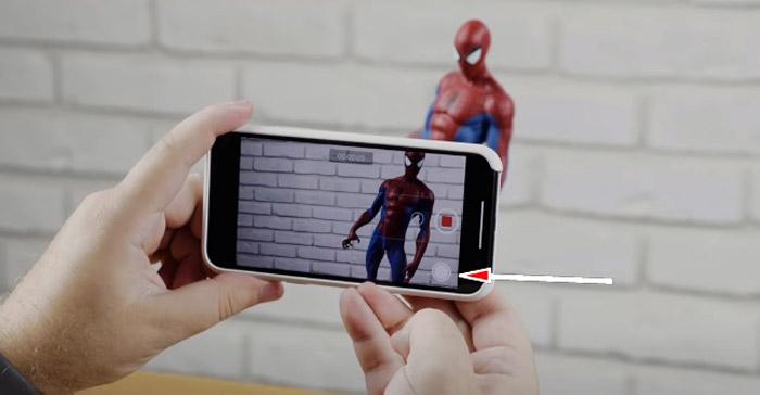 Сделать фото во время видеосъемки