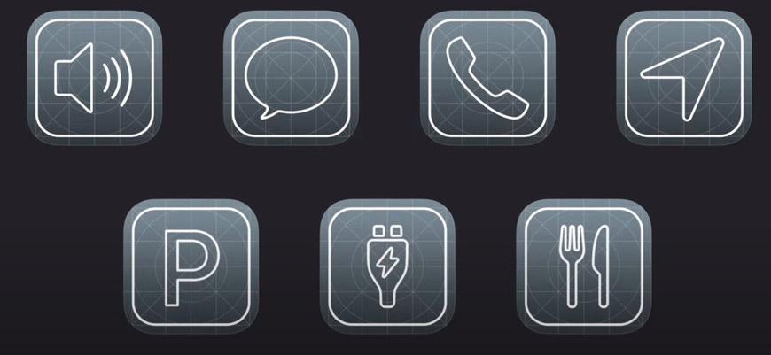 Приложения для CarPlay