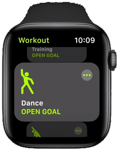 Танцы для Apple Watch