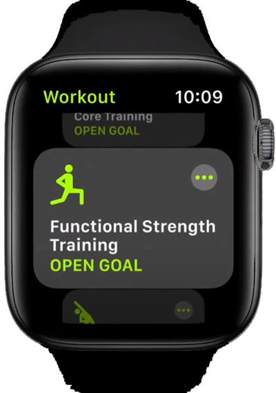 Тренировки Apple Watch