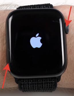 Скриншот на Apple Watch