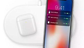 Беспроводная зарядка AirPods 2 и iPhone