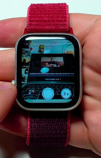 Управление Apple Watch камерой