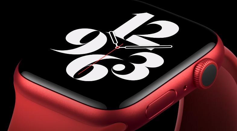 Apple Watch красный цвет