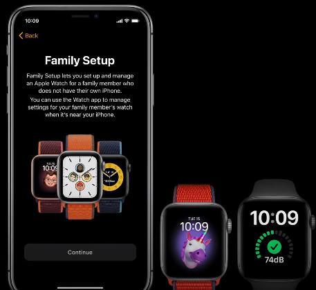 Семейный доступ на Apple Watch