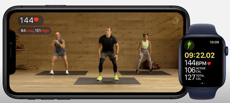 Фитнес Apple Fitness+