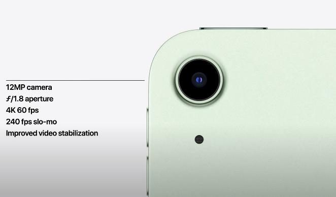 Задняя камера iPad Air