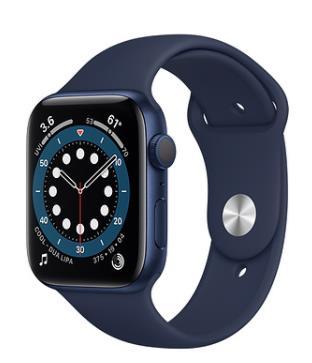 Синий Apple Watch 6