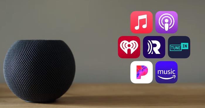 Музыкальные сервисы для HomePod mini