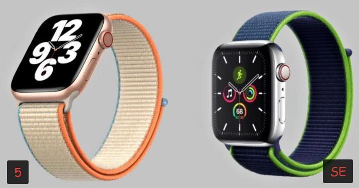 Отличия от Apple Watch 5