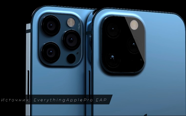 Рендер камера iPhone 12s