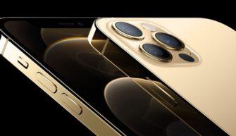 Золотой iPhone 12 Pro