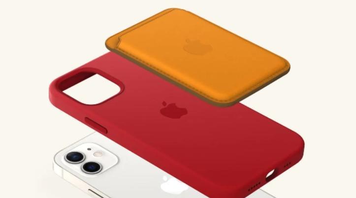 Чехол MagSafe кошелек для iPhone 12