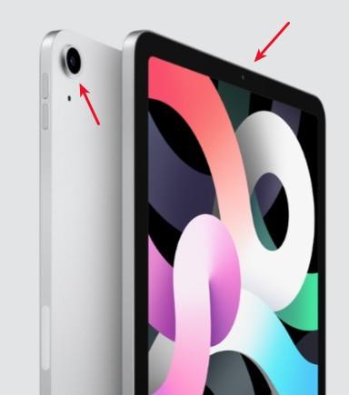 Камера на iPad Air
