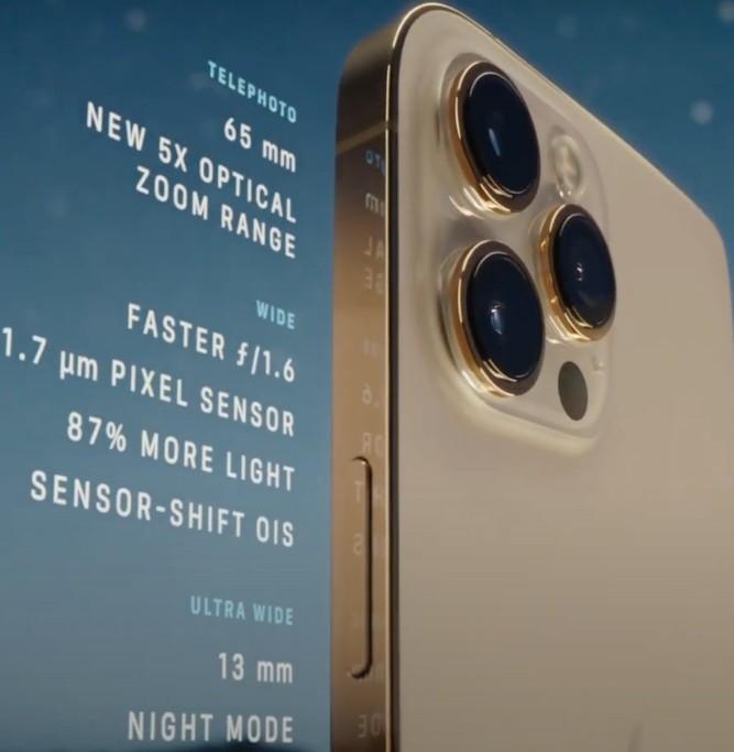камера в Айфон 12 Про Макс