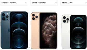 Сравнение iPhone 12 Pro Max