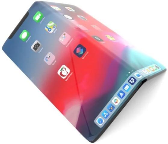Прототип складного iPhone