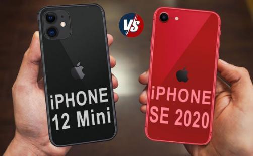 iPhone SE 2020 и iPhone 12 Mini