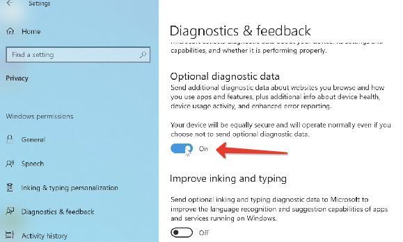 Optional Diagnostic Data
