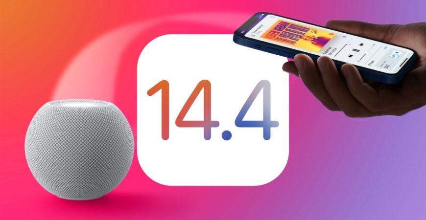 Обзор iOS 14.4