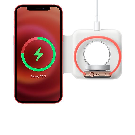 встроенная таблетка для зарядки часов Apple Watch