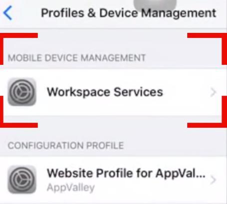 MDM блокировка на iPhone