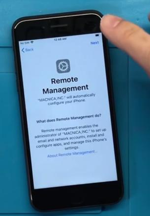 Удаленное администрирование iPhone