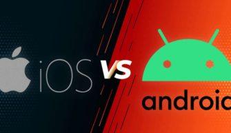 Система iOS против Android удобство использования