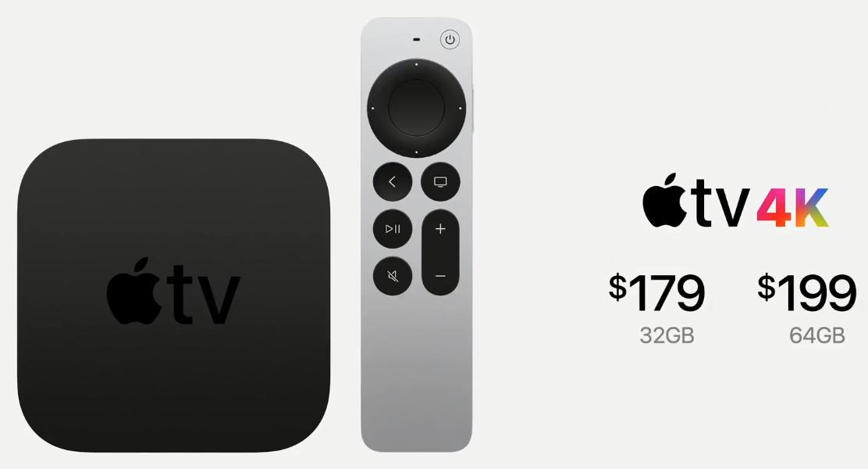 Цена Apple TV 4K