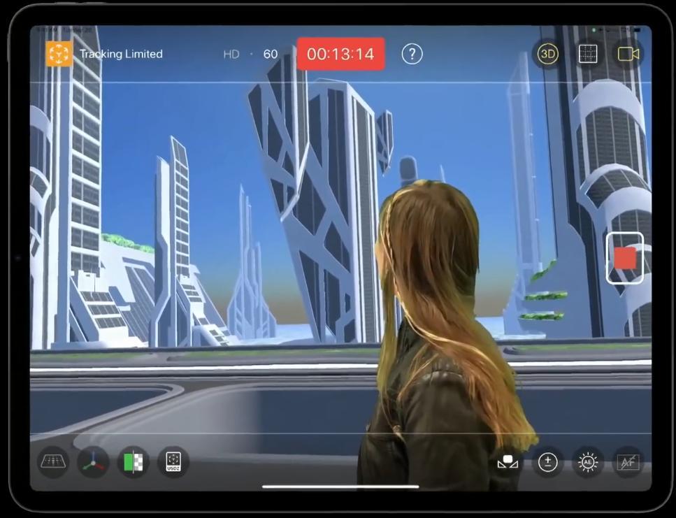 Дополненная реальность на iPadPro