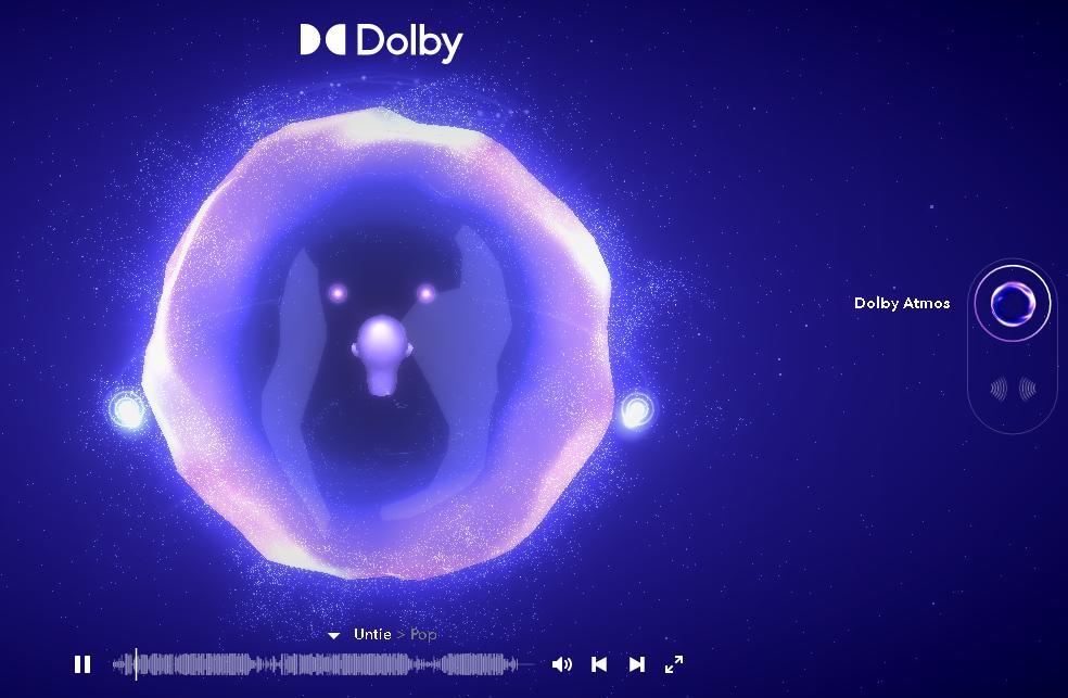 Dolby Atmos демо