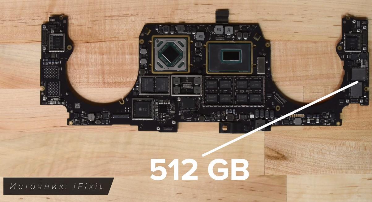 Материнская плата MacBook