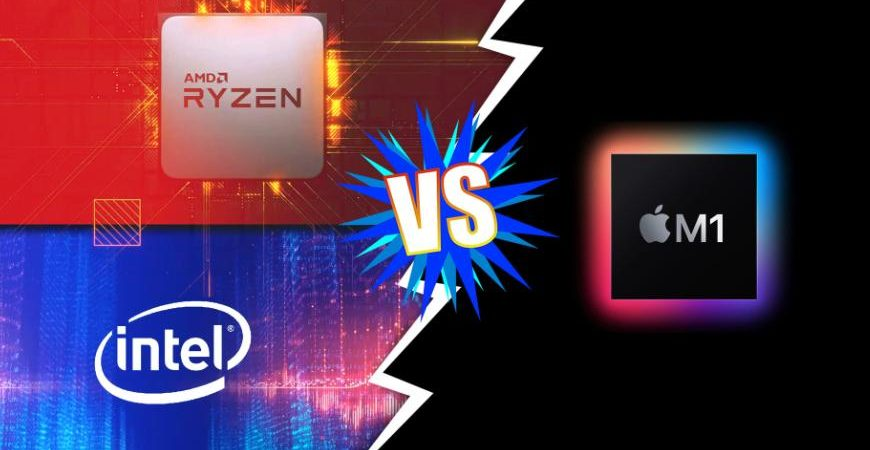 Чип Apple M1 против Intel и AMD