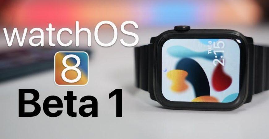 watchOS 8 beta обзор
