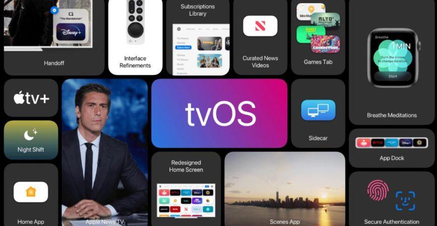 Обзор Apple TVOS 15