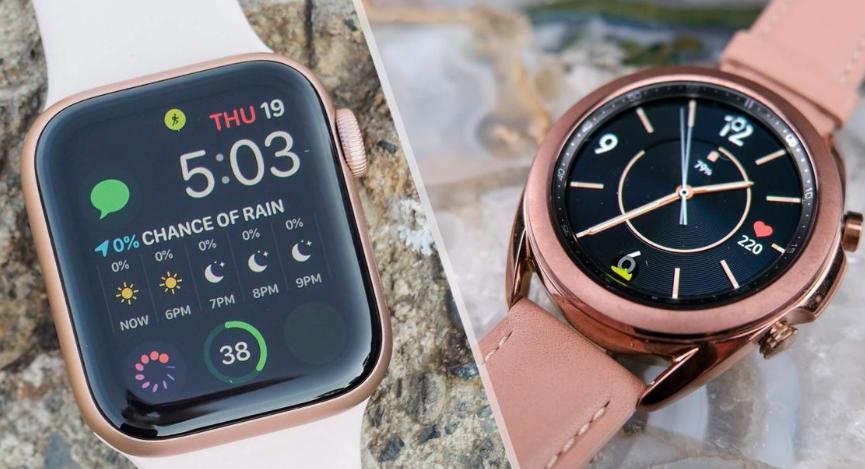 Apple Watch и Galaxy Watch