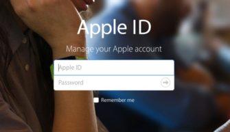 Разблокировка Apple ID
