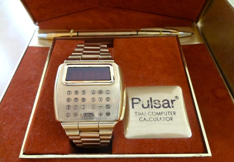 Часы Pulsar Time Computer Calculator