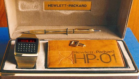 Часы HEWLETT PACKARD HP-01 CALCULATOR