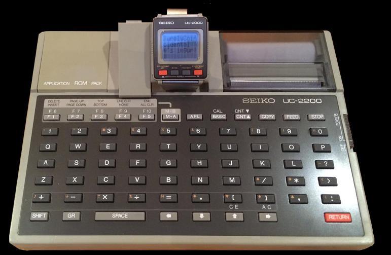 Часы Seiko UC-2000 с терминалом
