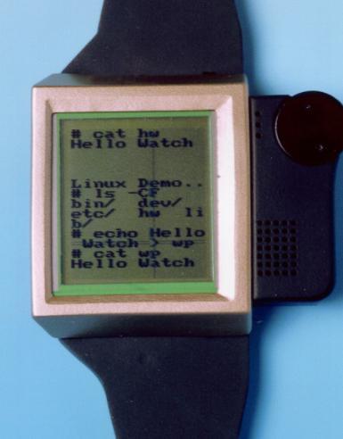 Часы IBM Linux Watch