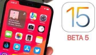 Обзор iOS 15 beta 3 4 5