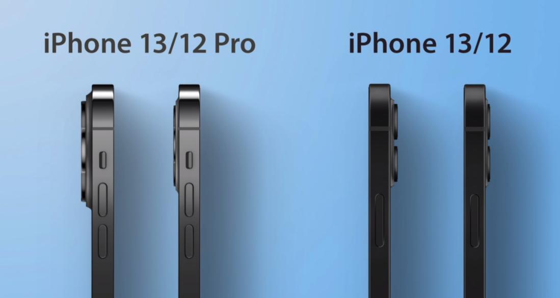 Толщина корпуса iPhone 13