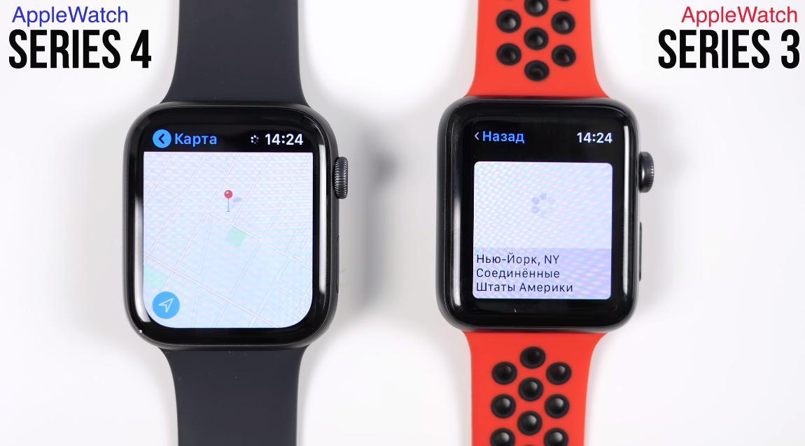 Размеры матрицы Apple Watch 4