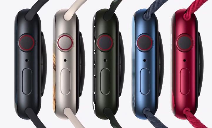 Apple Watch 7 цвета